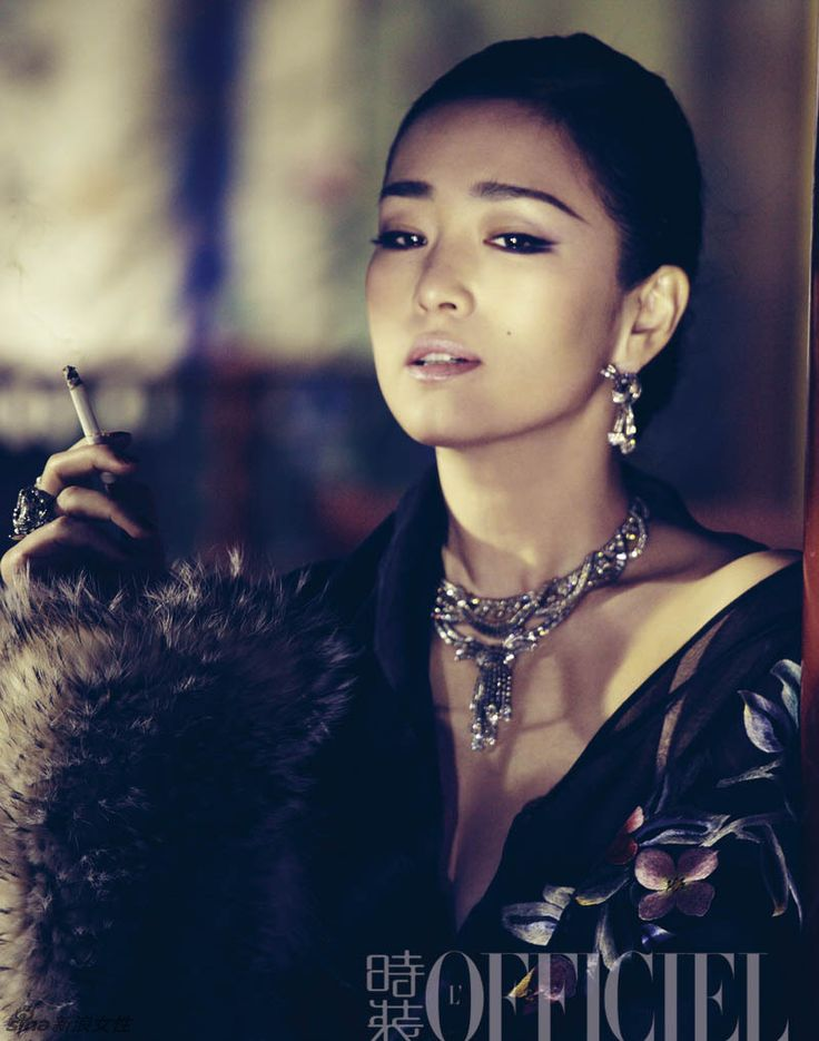 Gong Li featured in the September 2012 issue of L'OFFICIEL (China) magazine