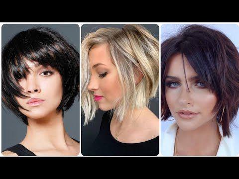 قصات شعر 2020 قصير تسريحات شعر بسيطة قصات الشعر القصير Beautiful Hairstyles Haircuts And Hair Color Youtube Beauty