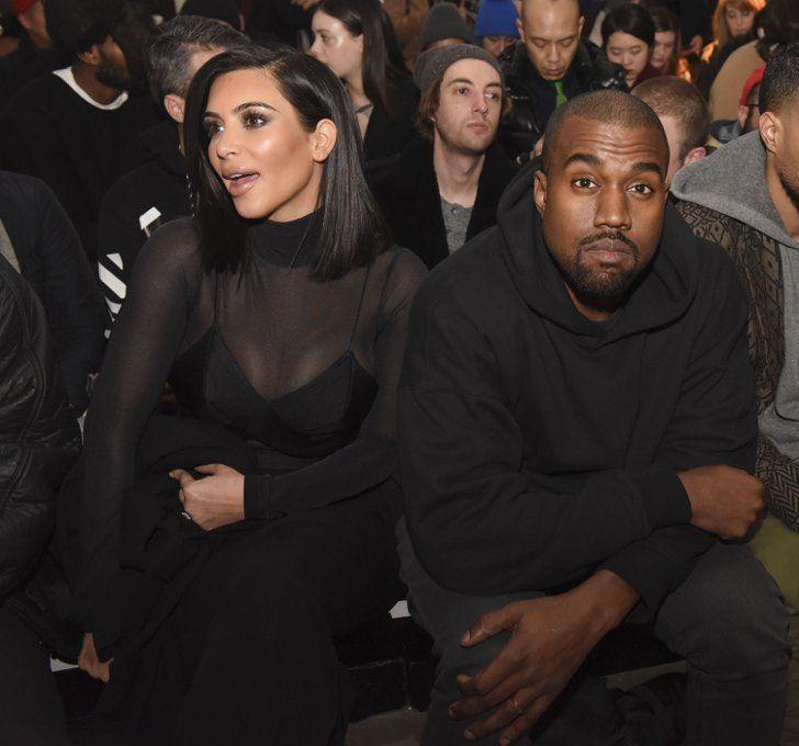 Pin for Later: Die Promis reissen sich um Hugo Boss Kim Kardashian und Kanye West Gesehen bei: Robert Geller