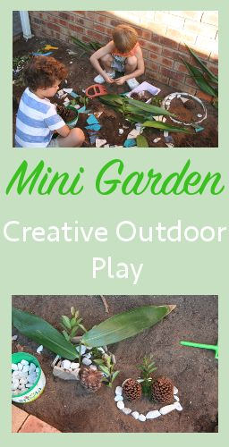 Outdoor Play Ideas - Life in the Sandpit