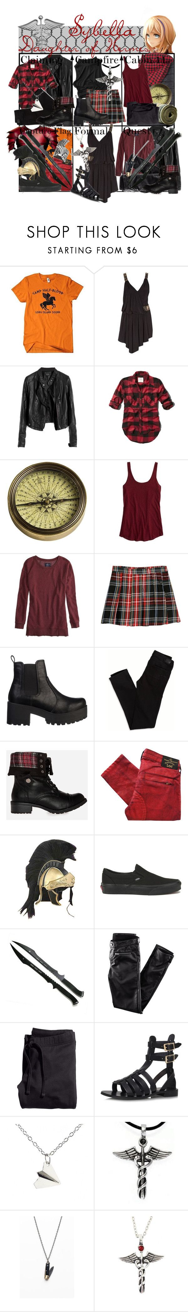 """""""Requested by sybella-fey: Sybella Daughter of Hermes ~ Wardrobe"""" by liesle ❤ liked on Polyvore featuring ASOS, Abercrombie & Fitch, Authentic Models, American Eagle Outfitters, MANGO, Lipstik, DailyLook, Vivienne Westwood Anglomania, Vans and H&M"""