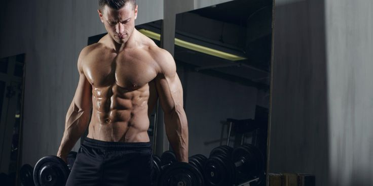 How to get those coveted V lines on your abs.