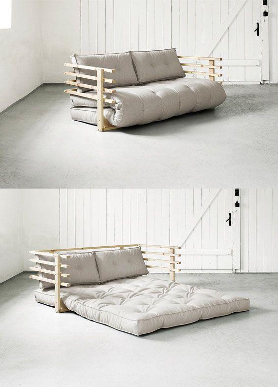 Erstmal auf's Sofa oder gleich ins Bett? Mit unserm Schlafsofa Karup fällt die Wahl leichter ;)