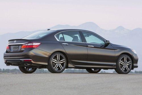 2017 Honda Accord Touring V-6 Sedan Exterior
