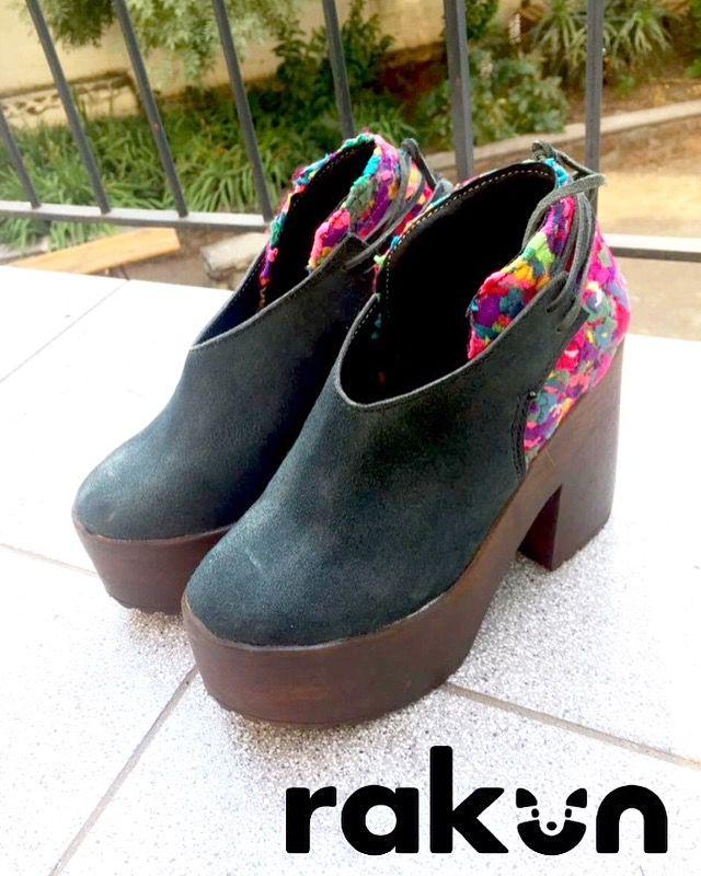 Diseño sustentable para tus pies, en cuero reciclado y nuestra tela de desechos textiles Ecotex...