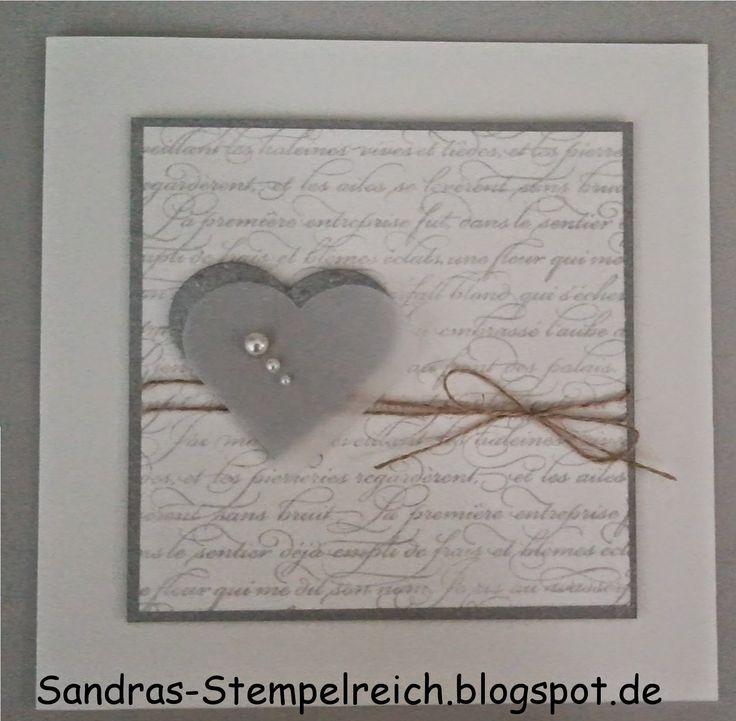 Sandra's Stempelreich: Silberhochzeit...