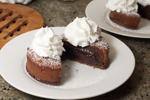 Cake: can never go wrong with something called chocolate lava cake ...