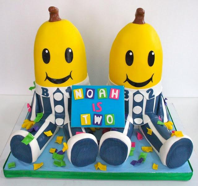 Bananas in Pajamas Cake