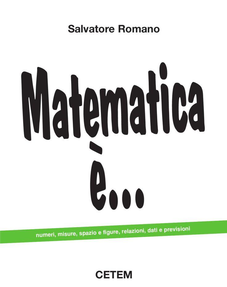 CETEM Salvatore Romano numeri, misure, spazio e figure, relazioni, dati e previsioni