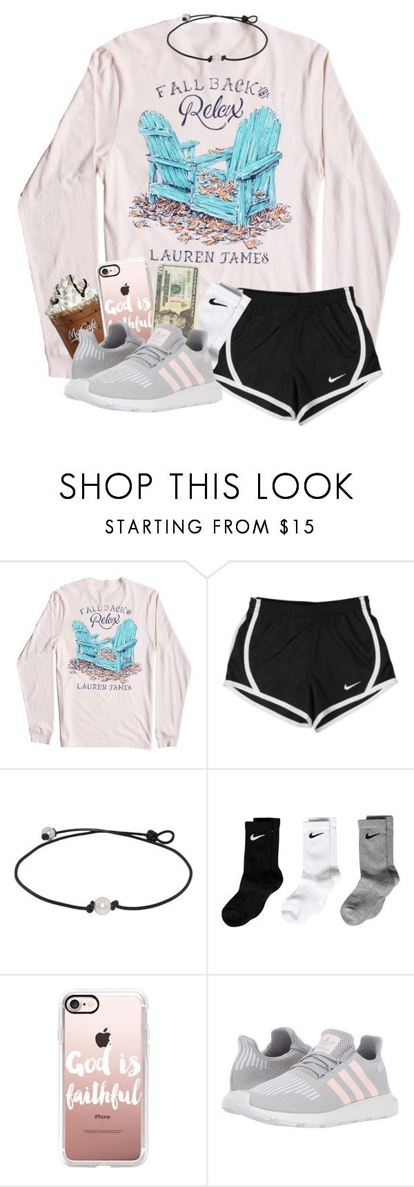"""""""Black Friday!!! (And rtd)"""" by magsvolleyball2 ❤ liked on Polyvore featuring NIKE, Casetify and adidas Originals"""