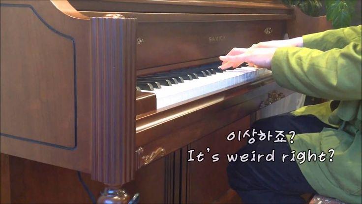 """(자작곡) 자막이있는 감동적인 피아노 음악 sad Piano solo """"Before sunrise"""" -P3"""