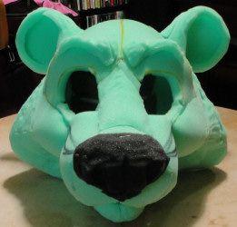 how to make foam mascot heads