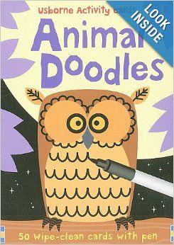 Animal Doodles (Usborne Activity Cards): Fiona Watt, Non Figg: 9780794527952: Amazon.com: Books