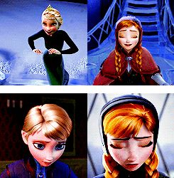 A Sister More Like Me Elsa and Anna Parallels<3