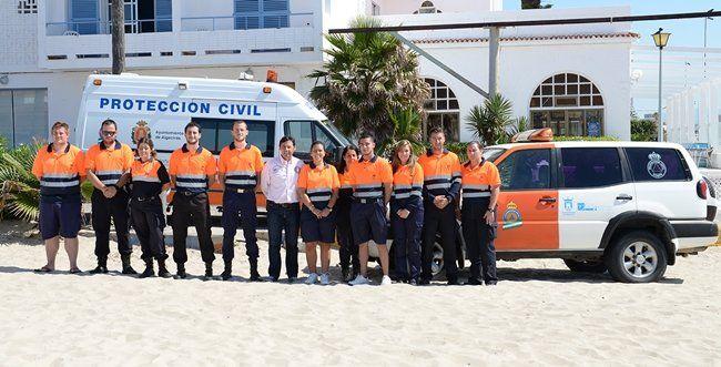 Nuevos uniformes para la Agrupación de Voluntarios de Protección Civil - Algeciras - Horasur - Lider en Información y Opinión del Campo de Gibraltar