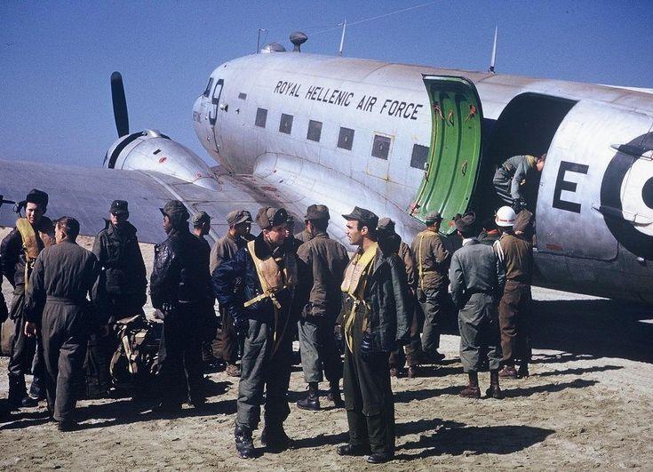 RHAF C-47 Gimbo December 1952