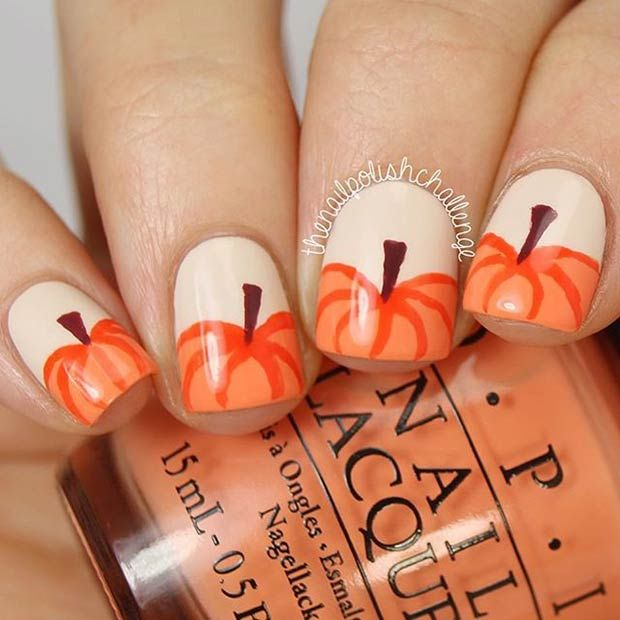 Best 25 fall nail art ideas on pinterest cute fall nails fall 21 amazing thanksgiving nail art ideas prinsesfo Image collections