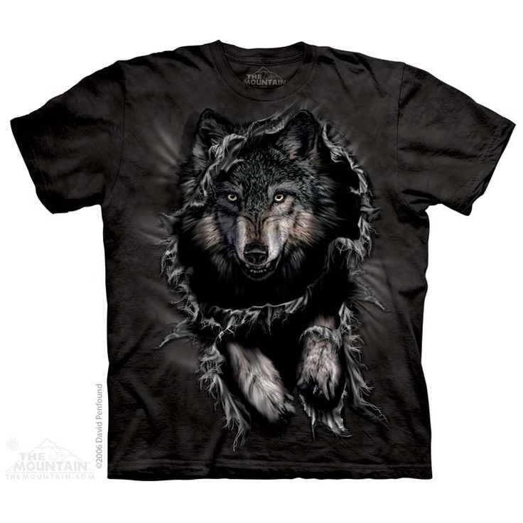 Breakthrough Wolf T-Shirt $22.00 Use code: NWC15 for 15% off. The Mountain T-shirts.