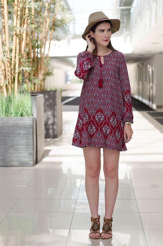 BLOGGER LOVE Ark Clothing Glamorous Dress #70sdress #70s #festival