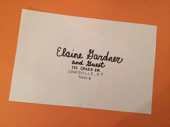 How Soon Do You Send Out Wedding Invitations: 25+ Best Ideas About Addressing Wedding Invitations On