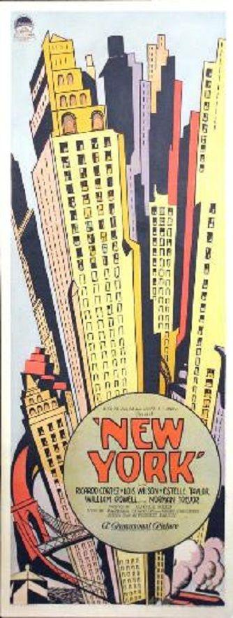 New York (1927) -  Ricardo Cortez Lois Wilson Estelle Taylor