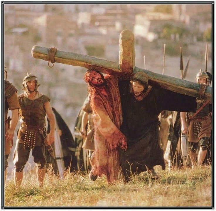 Cross Crown No Jesus Thorns Blood