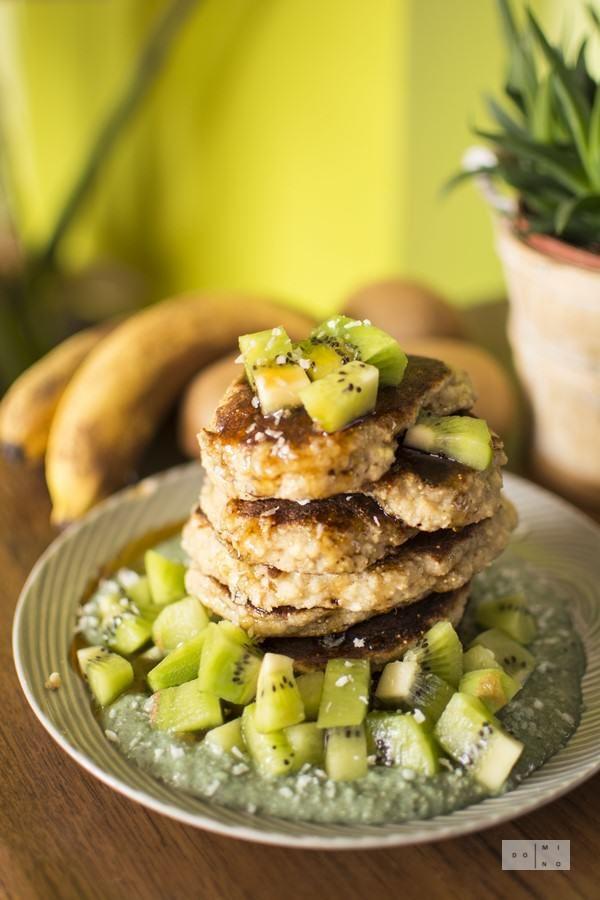 Millet coconut pancakes | dooseet