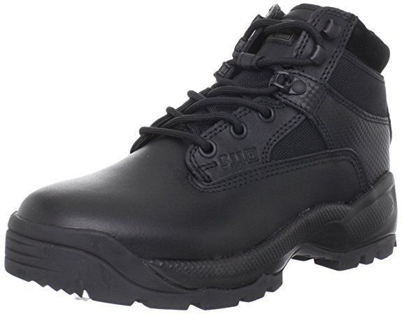 """5.11 WOMEN'S A.T.A.C.® 6"""" SIDE ZIP BOOTS 12025 / BLACK 019 * SIZE 8.5 D(M) - NEW #511Tactical #WorkSafety #WeartoWork"""