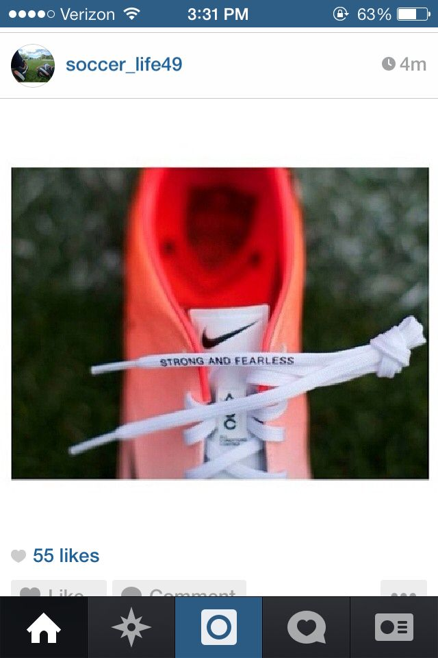 I want these laces on my cleats! <3