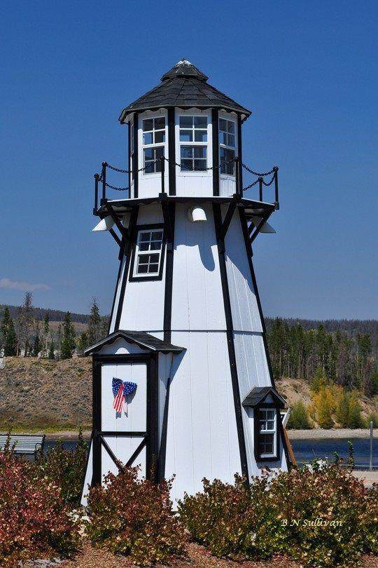 Lighthouse at Frisco Bay Marina, Lake Dillon, Colorado ( by B N Sullivan)