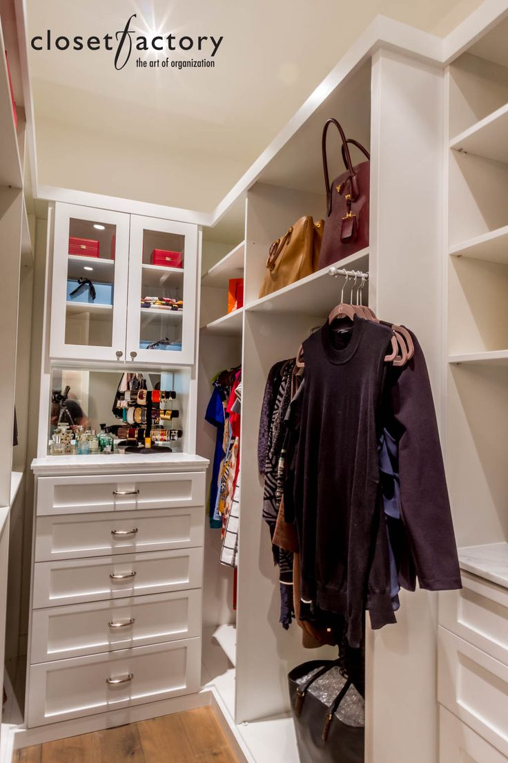 Pin By Closet Factory On Walk In Closet Organizers In 2019