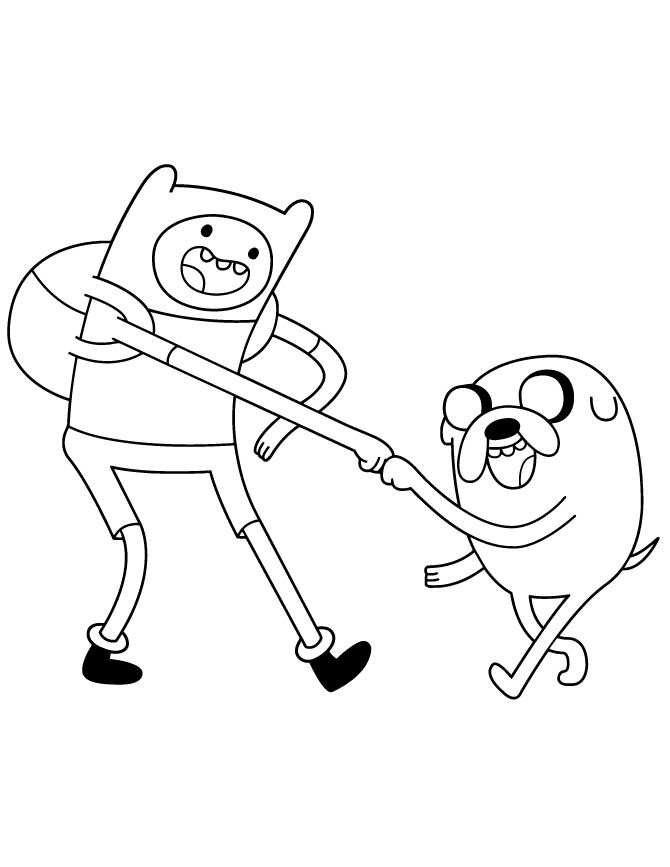 11 best Adventure Time Coloring Pages images on Pinterest