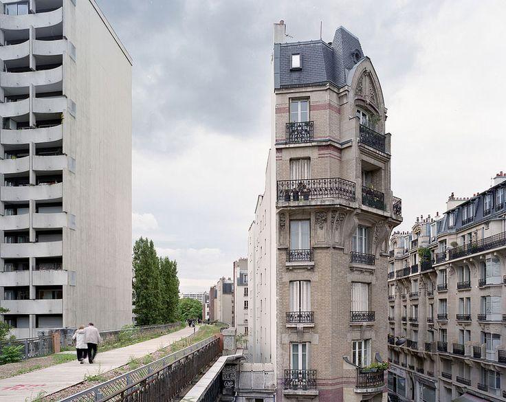 La voie ferrée de Petite Ceinture de Paris