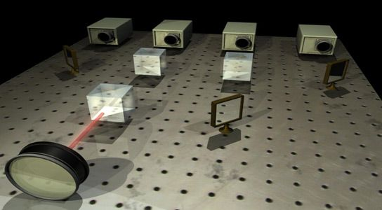 Encoded Photons Using Quantum Cryptography, Sent a Record Distance!