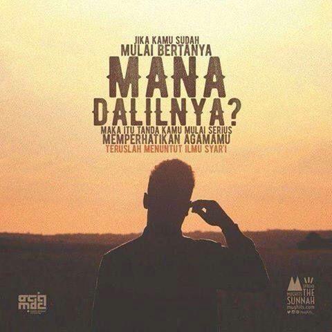 Pertanyaan yg sudah mulai serius dalam memperdalam agama Islam