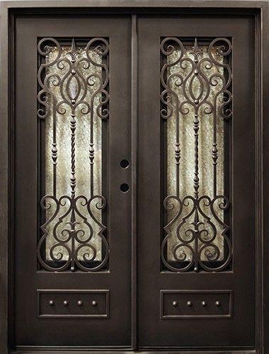 Wondrous 62 X 81 Baton Rouge Iron Prehung Double Door Unit Iron Doors Iron Entry Doors Front Entry Door Handles Collection Olytizonderlifede