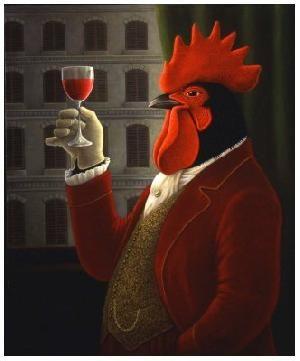 ✯ Coq au vin .:☆:. Artist George Underwood ✯
