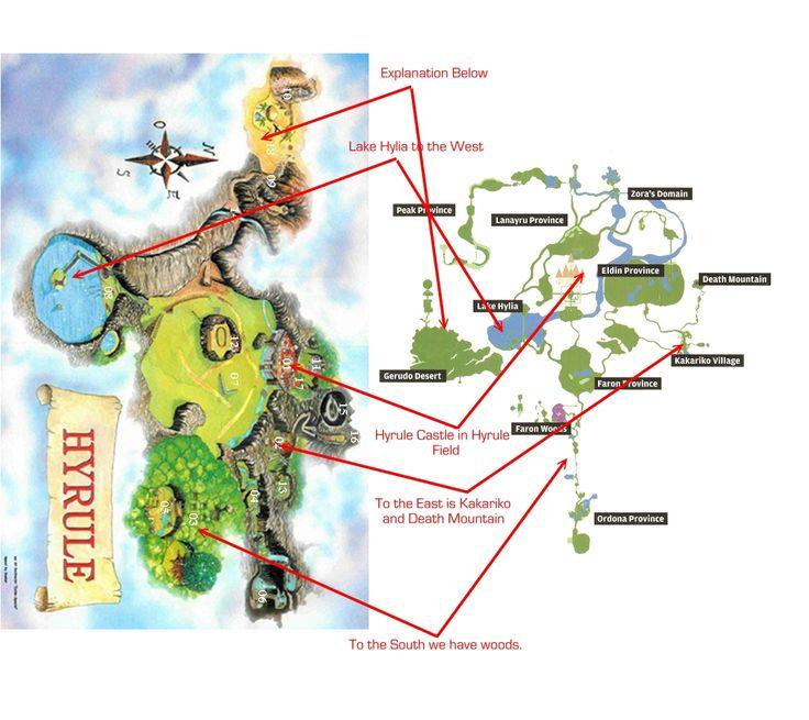 Best 25 zelda map ideas on pinterest legend of zelda hero legend of zelda map comparison photo lozmapsg gumiabroncs Gallery