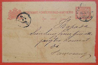 Old Postcard Netherlands East Indies 1911  to Semarang #1197 | eBay