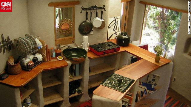 82 best images about cob house kitchen on pinterest stove adobe and cob houses - Small homes big space collection ...