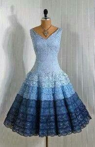 Beautiful Blue Lace Dress