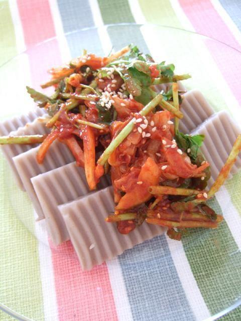 みゆき先生の簡単&おいしい韓国料理レシピ!「ムクの和えもの」