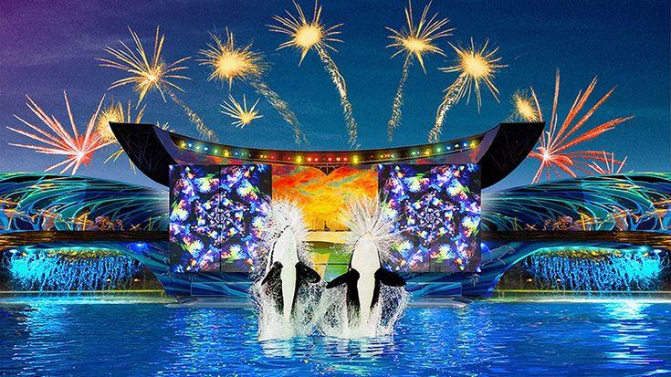 Seaworld 4th July