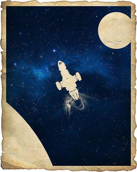 16x20 Firefly Serenity Poster 2 on Etsy, $24.95
