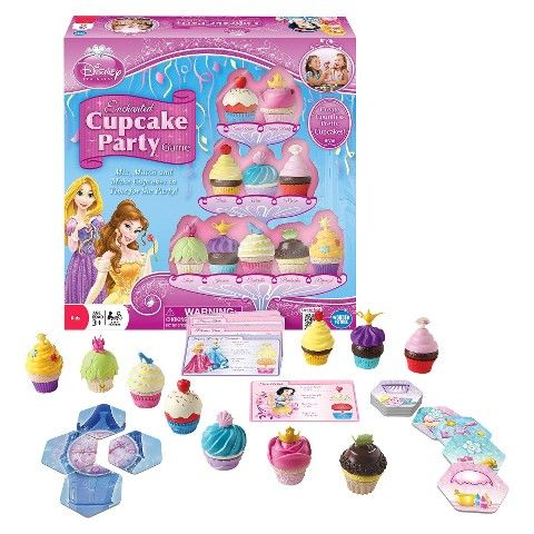 The Wonder Forge Disney Princess Cupcake Party Game