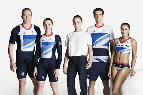 Our London 2012 Olympic Outfits by Stella McCartney. I'm not impressed.