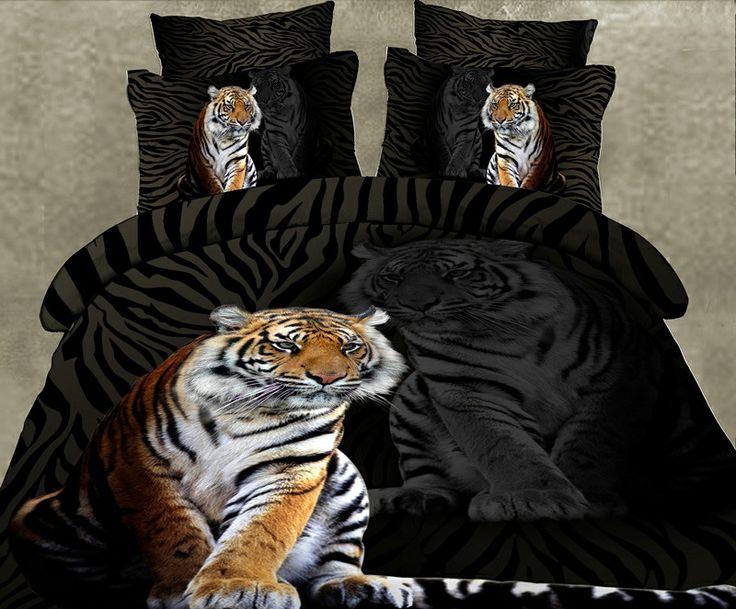 Rewelacyjna Pościel 3D z motywem Tygrys. W realu wygląda jeszcze piękniej http://posciel-3d.pl/posciel-3d-tygrys-b-3-p-3.html