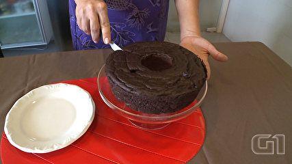 G1 - Com biomassa de banana verde, bolo vira sobremesa saudável - notícias em Minas Gerais