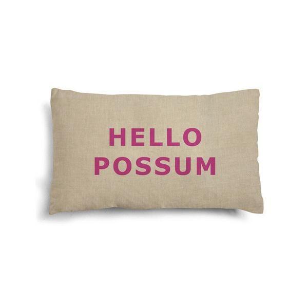 iconic cushion mini - HELLO POSSUM