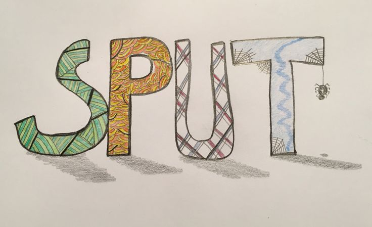 Fun with letters, colour and some kind of shadow